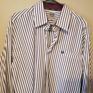 Cinch western button down dress shirt Large cotton